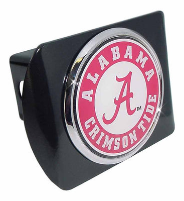 University of Alabama Seal Black Hitch Cover