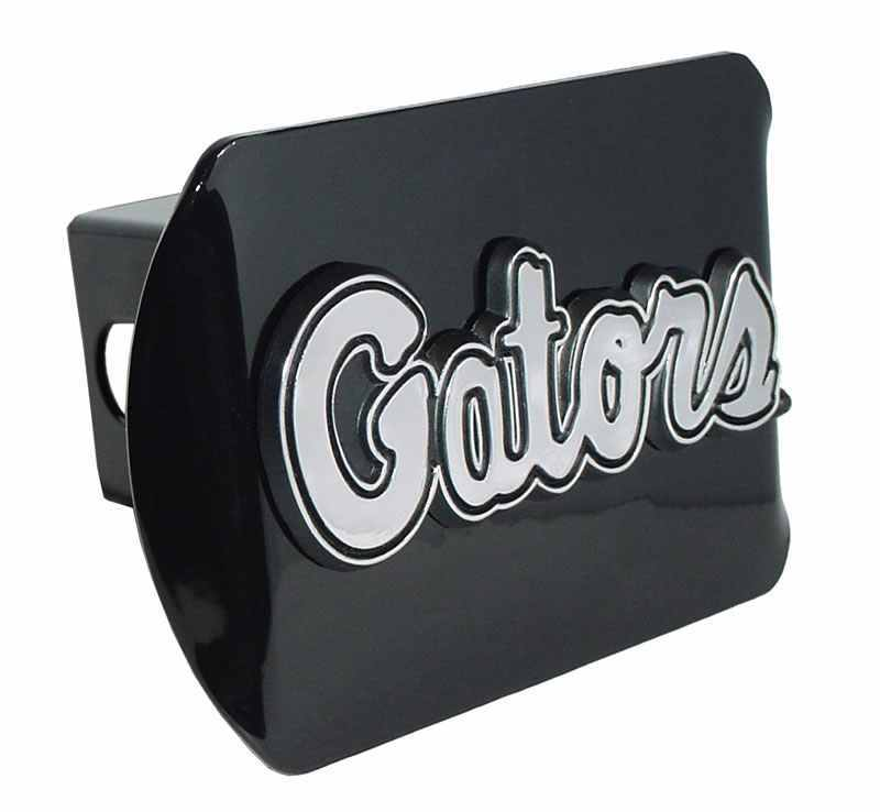 University of Florida Gators Script Black Hitch Cover