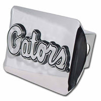 University of Florida Gators Script Shiny Chrome Hitch Cover