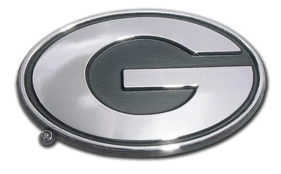University of Georgia Chrome Car Emblem