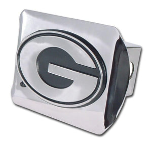 University of Georgia Shiny Chrome Hitch Cover