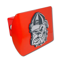 University of Georgia Bulldog Red Hitch Cover