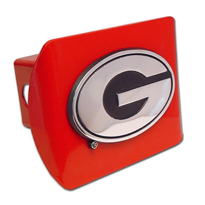 University of Georgia G Red Hitch Cover