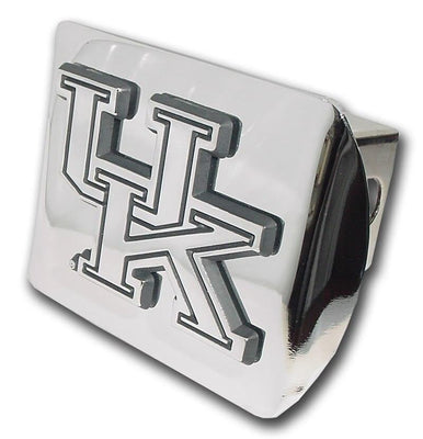 University of Kentucky Shiny Chrome Hitch Cover