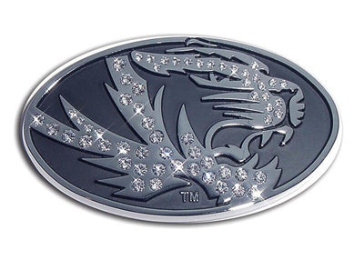 University of Missouri Crystal Chrome Car Emblem