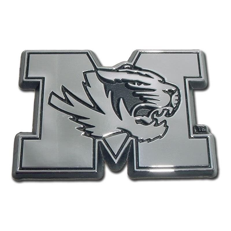 University of Missouri Chrome Car Emblem