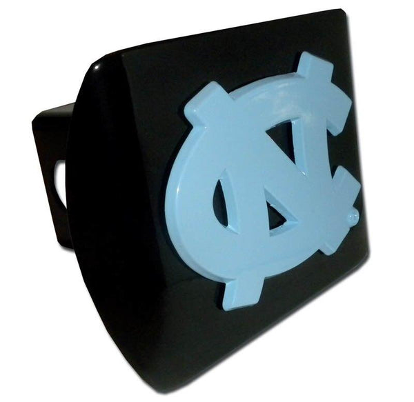 University of North Carolina Blue NC Black Hitch Cover