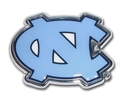 University of North Carolina Chrome and Color Car Emblem
