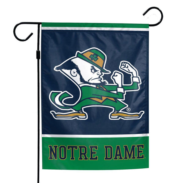 University of Notre Dame Fighting Irish Garden Flag