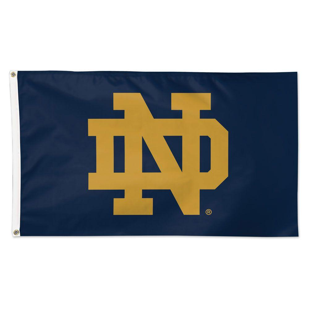University of Notre Dame ND 3x5 Deluxe Flag