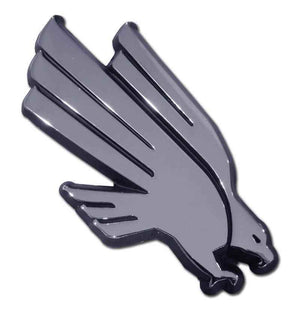 University of North Texas Eagle Chrome Car Emblem