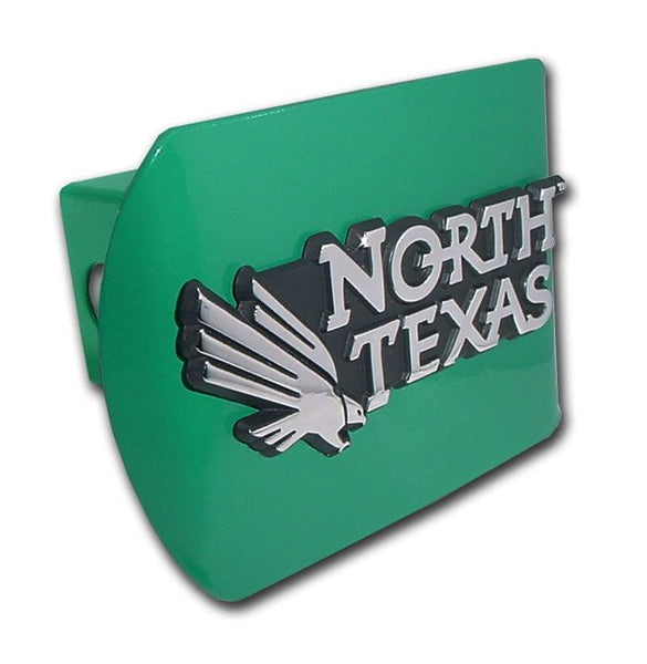 University of North Texas Green Hitch Cover