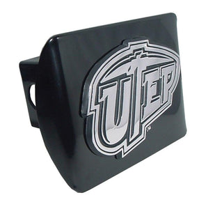 University of Texas EL Paso Black Hitch Cover