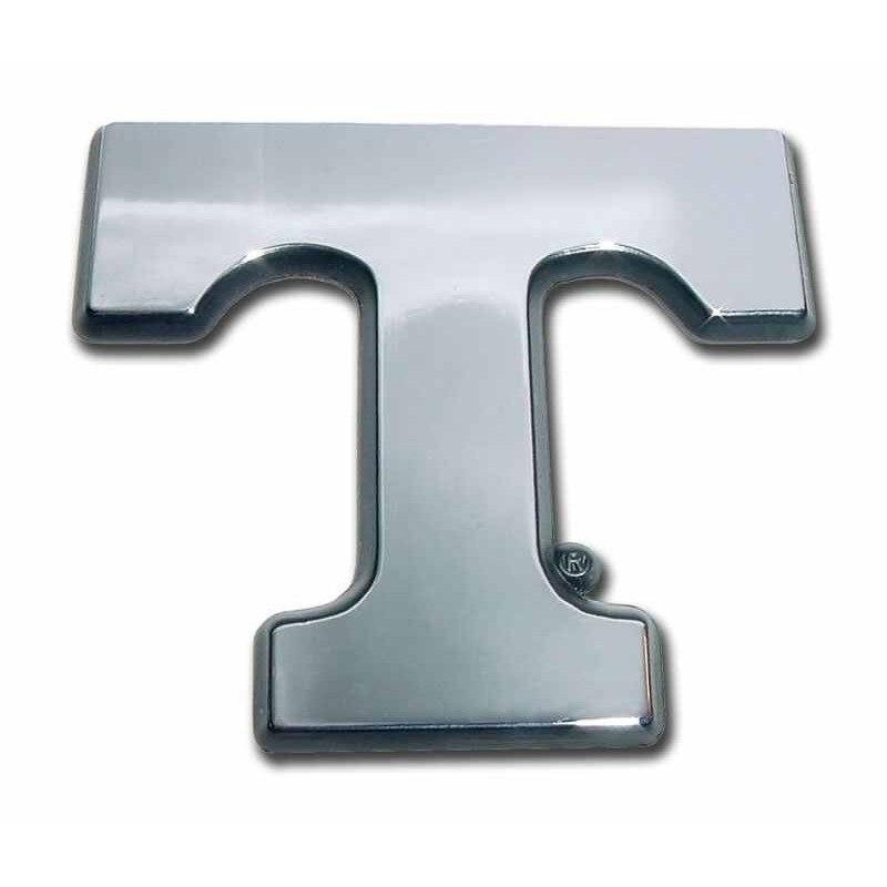 University of Tennessee Chrome T Car Emblem