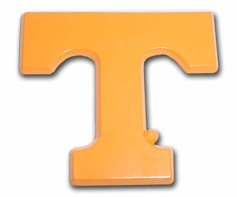 University of Tennessee Orange T Car Emblem