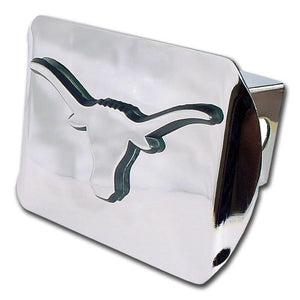 University of Texas Longhorn Shiny Chrome Hitch Cover