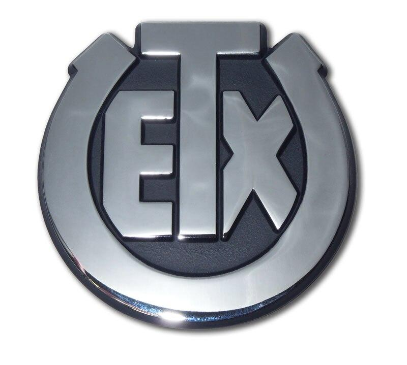 University of Texas Exes Chrome Car Emblem