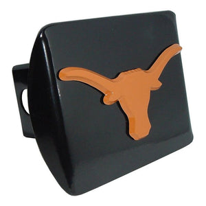 University of Texas Orange Longhorn Black Hitch Cover