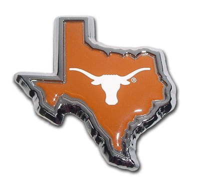 University of Texas State Shape Color Car Emblem