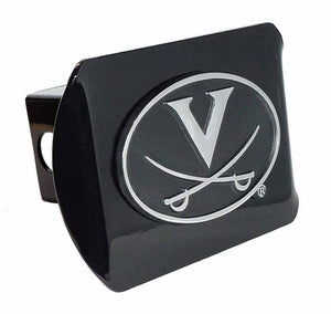 University of Virginia Black Hitch Cover