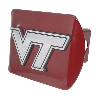 Virginia Tech University Maroon Hitch Cover