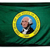 Washington Double Sided 3x5 State Flag