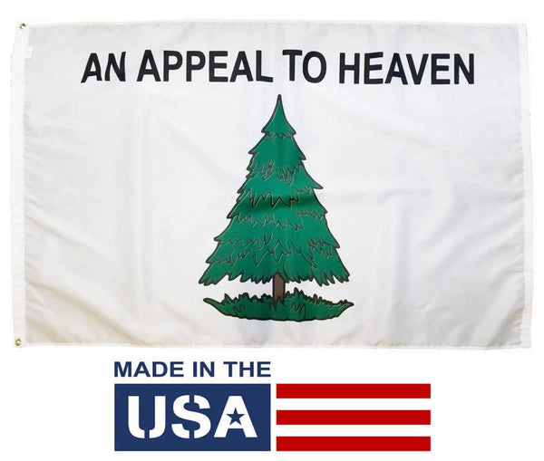 Washington's Cruisers An Appeal to Heaven Flag 3x5 Nylon - I AmEricas Flags