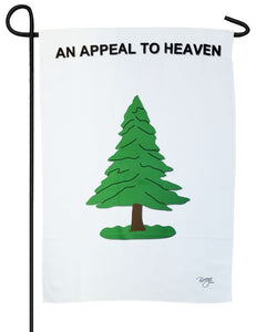 Washington's Cruisers An Appeal to Heaven Sublimated Garden Flag