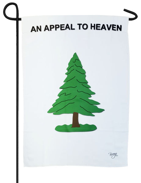 Washington's Cruisers An Appeal to Heaven Sublimated Garden Flag - I AmEricas Flags