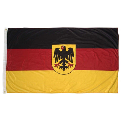 Germany State Ensign Superknit Polyester 3x5 Flag