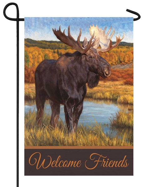 Welcome Moose Garden Flag - I AmEricas Flags