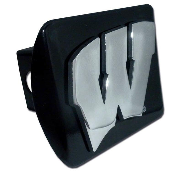 University of Wisconsin Black Hitch Cover