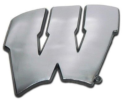 University of Wisconsin Chrome Car Emblem