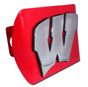 University of Wisconsin Red Hitch Cover