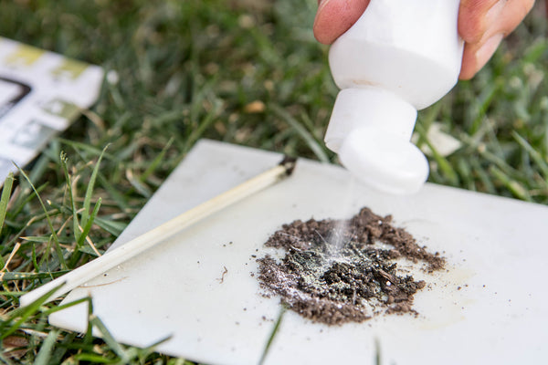 Barium sulfate will reveal the inner secrets of your soil