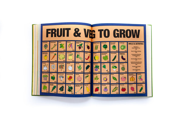 Fruit and Veg to grow spread from Grow Food Anywhere