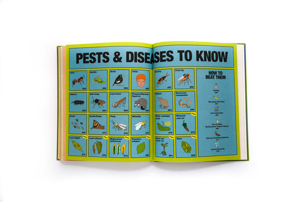 Pests and Disease to Know extract from Little Veggie Patch Co's Grow Food Anywhere