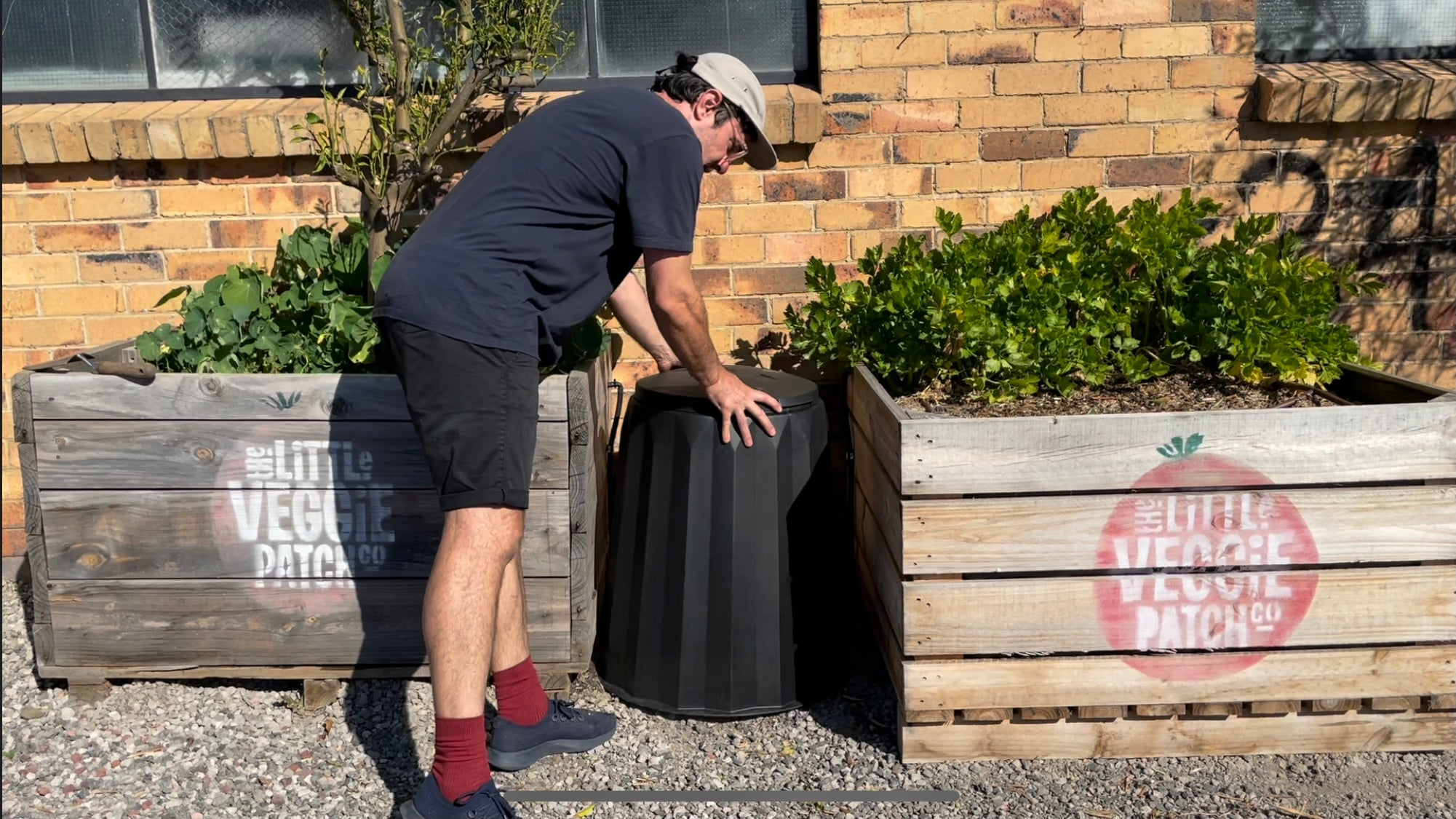 Ultimate Compost Setup choose the right spot