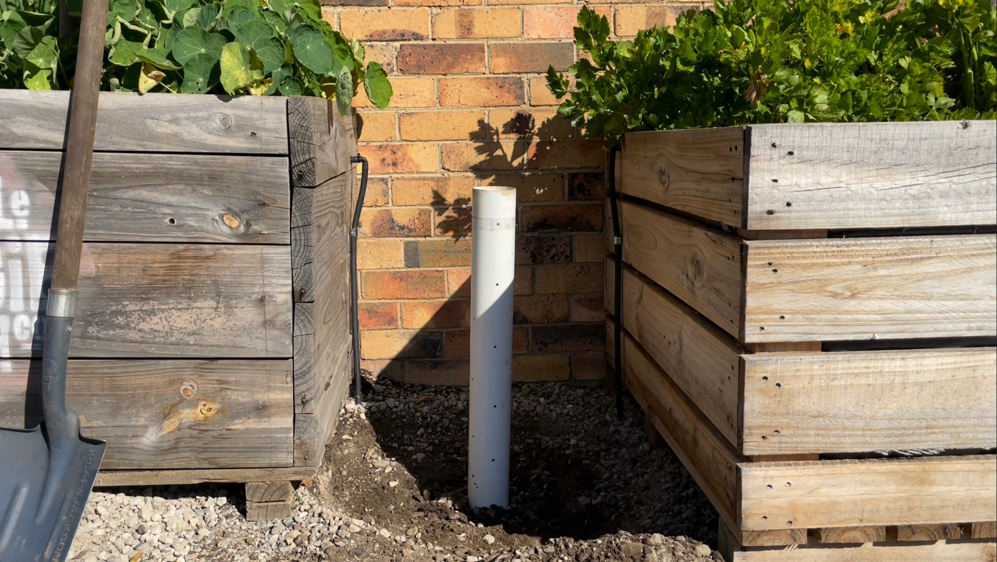 add a breather pipe to your ultimate compost setup