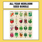'All Year Round' Seed Bundle + Seed Tin