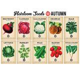 Planting Calendar + Heirloom Seed Bundle