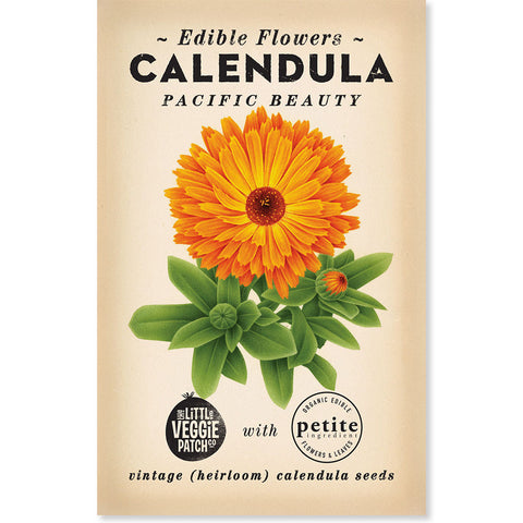 "Calendula ""Princess Mix"" Heirloom seeds"