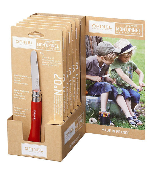 Opinel No. 7 Round Tipped Knife