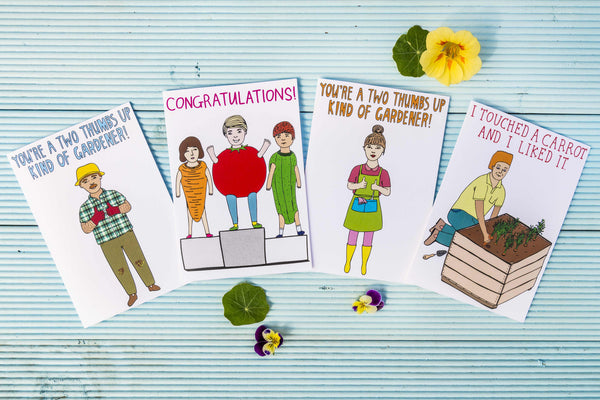 LIMITED RELEASE! Little Veggie Patch Co and Able & Game Card Series