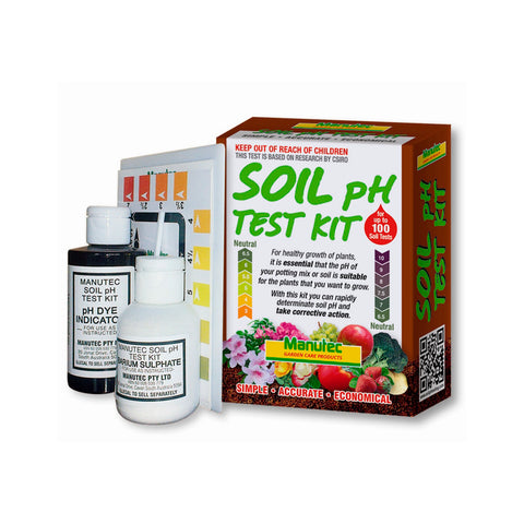 Soil testing kit measure acidity levels of soil with a for Soil nutrient test kit