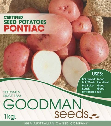 Pontiac Seed Potatoes