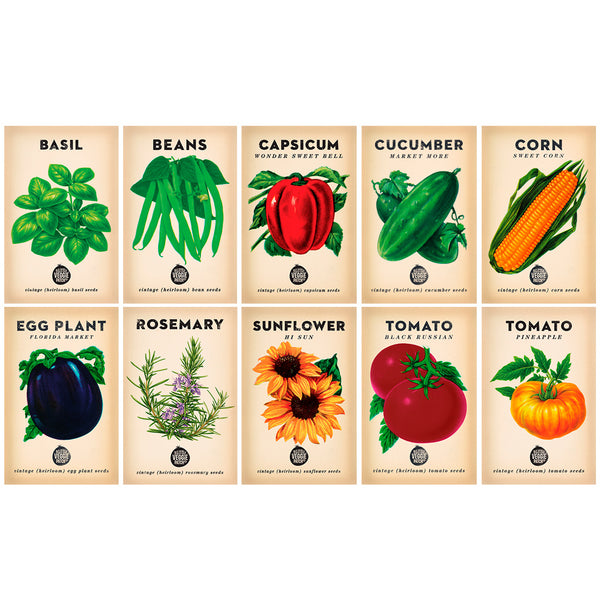 Summer Seed Bundle