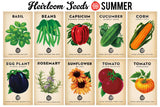 Planting Calendar + Heirloom Seed Bundle (FREE SHIPPING!)