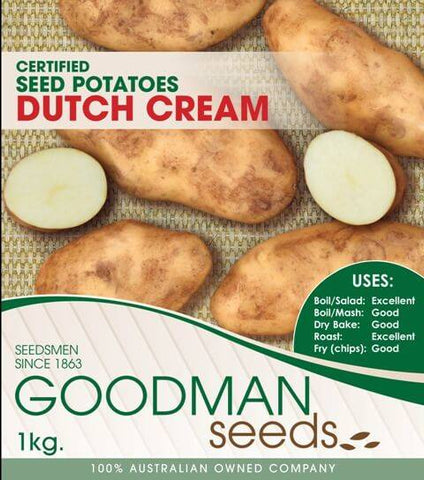 Dutch Cream Seed Potatoes