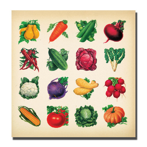 Veggie Art Card